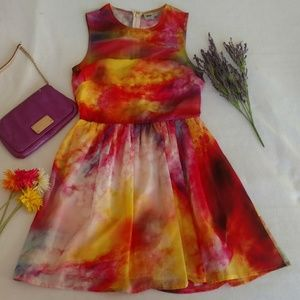 ASOS Watercolor Dress